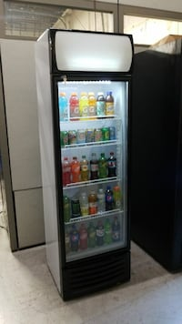 Glass door fridge brand new with warranty 30 km