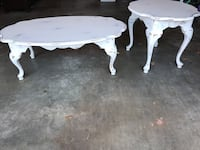 white wooden table and chair Marietta, 30064