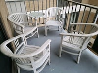 Refinished Teak wood Chairs  Arlington, 22201