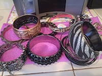 Bracelets $1 each or all 9 for $8 Victorville, 92394