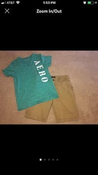 Aeropostale Shirt And Shorts Outfit  Spring, 77373