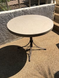 Small outdoor table