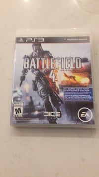 PS3 game Battlefield 4 Stoney Creek, L8E