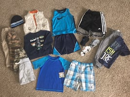 Lot #2 Nike Adidas Boys Clothing Bundle 3T