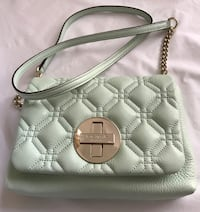 Kate spade astor court naomi quilted mint cross body Coral Springs, 33071