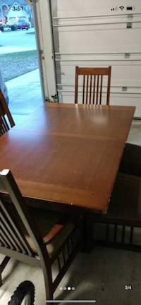 Dining set negotiable