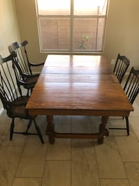 Antique table and chairs Mesa, 85209