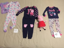 Peppa the Pig Girl Clothes and Toy