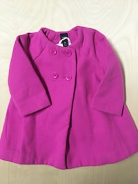 Baby Gap Coat Size 12-18 Months Pink Jacket Kids Children's Clothing Edmonton, T6J