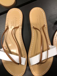 Hand made, genuine leather Sandals, size 9.5 San Francisco, 94122