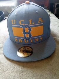 blue and yellow UCLA fitted cap Lake Elsinore, 92530