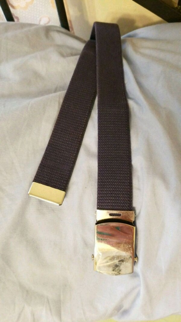 Air force ROTC issue belt