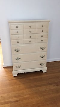 white wooden 6-drawer dresser Falls Church, 22046