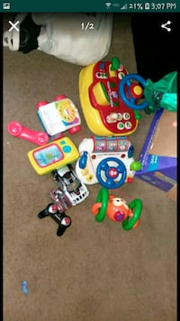 Kids toys and mix of clothes  Jackson