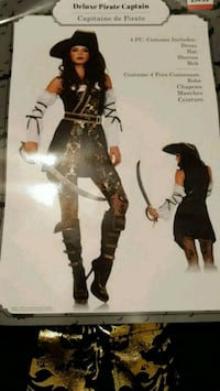 Womens Pirate costume, new Winnipeg, R2W 4Y8