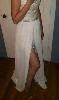 White Wedding Prom Dress