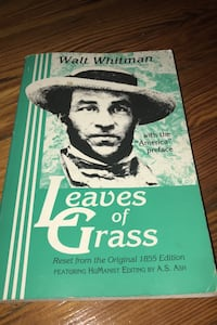 Walt Whitman leaves of grass  New York, 11421