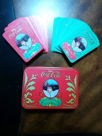 Vintage Victorian Style COCA COLA Playing Cards
