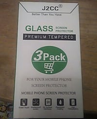 Unopened iPhone 7 Plus Screen Protectors, 3 Pack Casa Grande, 85122