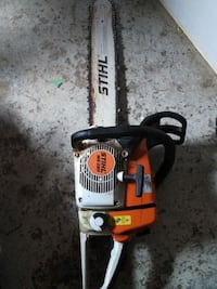 Stihl ms 260 chainsaw in great condition 3750 km