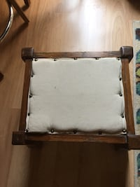 Antique Oak Arts and Crafts Footstool