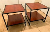 2 matching end side table/nightstands 18x20x20  Boynton Beach, 33426
