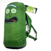 Rick And Morty Pickle Rick Sleeping Bag SDCC 2018 Exclusive. Adult Swim Green new with tags Fairfax, 22031