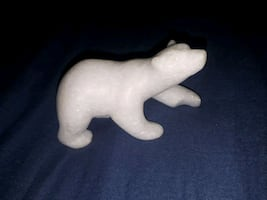 Inuit polar bear sculpture