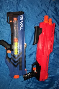 2 brand new rival nerf guns