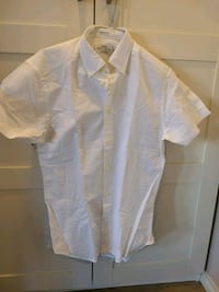 Men white cotton shirt size s Oslo, 0180