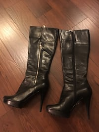 Black knee High Boots Guess-Marciano Toronto, M9B
