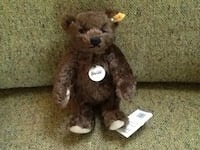 NEW COLLECTIBLE STEIFF GERMAN JOINTED BEAR ALL TAGS -SEE INFO