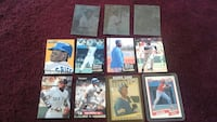 baseball player collectible card collection