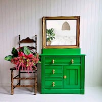 green and brown wooden cabinet Aldie, 20105