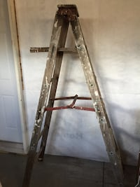 Old wooden painters ladder for decor use only  London, N6B