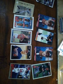 chipper jones card collection