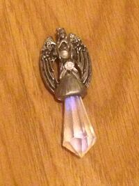 Large Crystal Angel Pendant  Edmonton, T5W 2L5