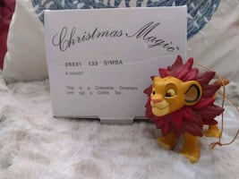 CHRISTMAS MAGIC SIMBA ORNAMENT DISNEY