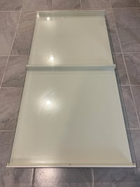 IKEA Glass-topped Table