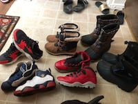 Youth  assorted shoes 39 mi
