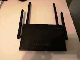 Asus dual band wireless router.  RT-AC1200