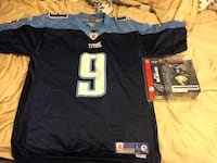 Steve McNair Tennessee Titans Jersey and Action Figure Warrenton, 20187