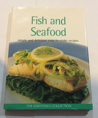 Fish and seafood cookbook excellent condition Toronto, M6H 3S4