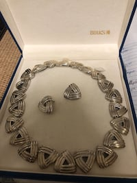 Birks sterling necklace and earring sets Richmond Hill, L4C 0J9