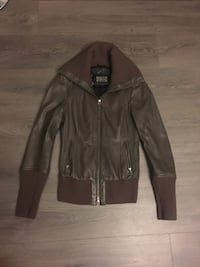 Xs mackage frieda leather jacket Burnaby, V5C 4A8