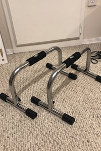 JFit Push-Up Parallette Bars