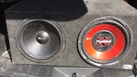 sub  woofers amp and box Saddle River, 07458