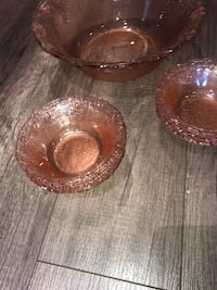 Glass bowl set Courtice, L1E 1A4