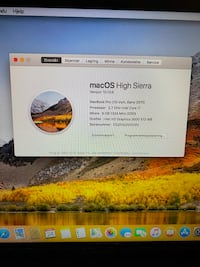 "Macbook Pro 13"" 240gb ssd Haslum, 1344"