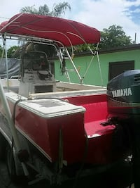 red and black Yamaha motorboat Miami, 33127